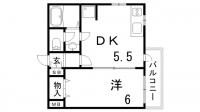 プリモディーネ深江本町[105号室]の間取り