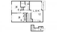 アルトピアーノ北神戸Ⅰ・Ⅱ[2-203号室]の間取り