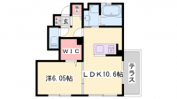 Sumika[105号室]の間取り