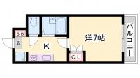 ジュネス伊伝居Ⅱ[410号室]の間取り