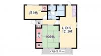 クローバー藤田[2階]の間取り