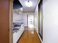 ハイツグリーンヒロ B棟[103号室]の外観