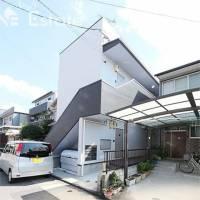 愛知県名古屋市南区明円町の賃貸アパートの外観