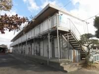 茨城県龍ケ崎市の賃貸アパートの外観