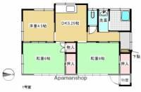 [一戸建] 福島県二本松市亀谷2丁目 の賃貸【福島県 / 二本松市】の間取り