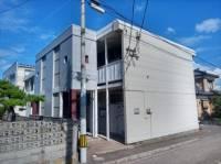 新潟県新潟市中央区出来島1丁目の賃貸アパートの外観