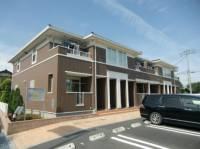山梨県南アルプス市下今諏訪の賃貸アパートの外観