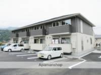 山梨県南巨摩郡富士川町駅前通2丁目の賃貸アパートの外観