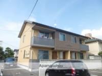 島根県松江市内中原町の賃貸アパートの外観