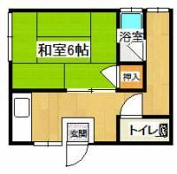 マンション・カンダ[7号室]の間取り