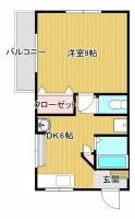 ケイマンション[202号室]の間取り