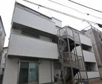 東京都豊島区東池袋4丁目の賃貸アパートの外観写真