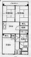 第2小舘ビル[402号室]の間取り