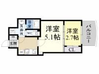 セレニテ神戸西クレア[8階]の間取り