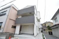 大阪府茨木市片桐町の賃貸アパートの外観