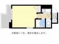 ドミエスポワール箱崎6[9階]の間取り