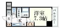 シャルマンフジ大阪城南[1003号室]の画像