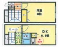 アミスタユウ日本橋[406号室]の間取り