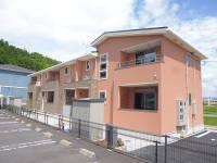 島根県松江市玉湯町玉造の賃貸アパートの外観