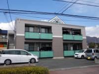 山梨県甲斐市境の賃貸アパートの外観