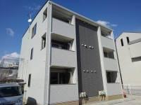 岡山県岡山市北区下伊福本町の賃貸アパートの外観