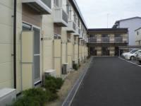 愛知県岡崎市大和町字塗御堂の賃貸アパートの外観