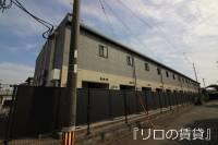 福岡県宗像市陵厳寺1丁目の賃貸アパートの外観