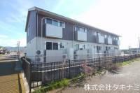 福井県福井市東森田1丁目の賃貸アパートの外観