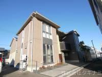 福井県福井市高木中央3丁目の賃貸アパートの外観