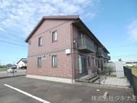 福井県福井市栗森1丁目の賃貸アパートの外観