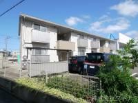 福井県福井市和田2丁目の賃貸アパートの外観