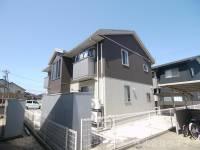 福井県福井市下森田新町の賃貸アパートの外観