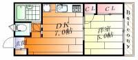 上野サウンドヒルズ[3階]の間取り
