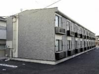 静岡県御前崎市池新田の賃貸アパートの外観