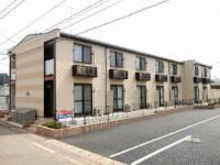 埼玉県鴻巣市滝馬室の賃貸アパートの外観