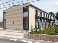 埼玉県鴻巣市小松1丁目の賃貸アパートの外観