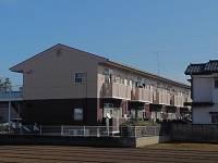 茨城県古河市水海の賃貸アパートの外観