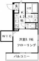 フォンターナ狛江Ⅱ[3階]の間取り