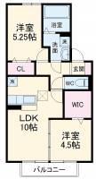 (仮)D−room北代田[1階]の間取り