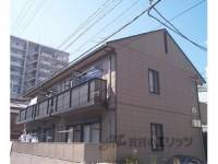 京都府京都市下京区西七条御前田町の賃貸アパートの外観