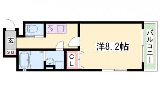 ワコーレヴィアーノ須磨関守町2丁目[1階]の間取り