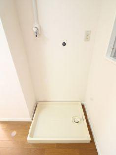 小野澤ビルの洗濯機置場