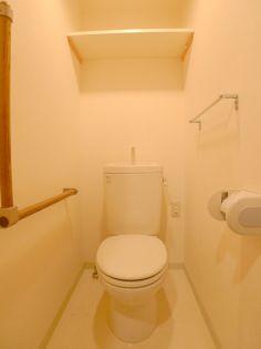 ビュ−フレア片町のトイレ