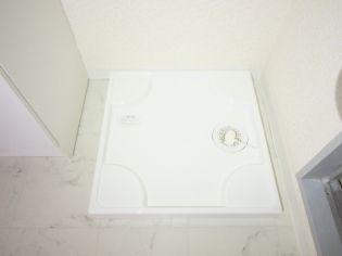 パ−ルマンション1の洗濯機置場