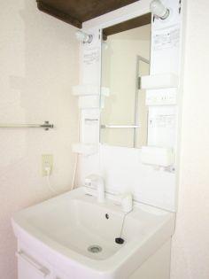 パ−ルマンション1の洗面