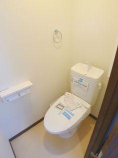 ルピナス川口のトイレ