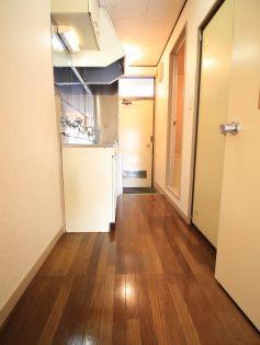 トキワハイツの廊下