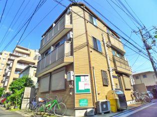 東京都台東区根岸5丁目の賃貸アパートの外観