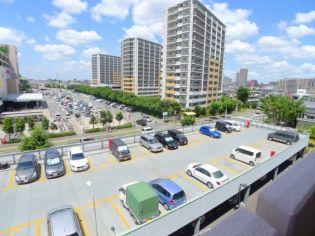 与野本町ハイツの駐車場