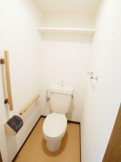 与野本町ハイツのトイレ